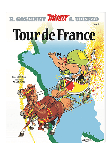 Asterix Nr. 6: Tour de France - Softcover