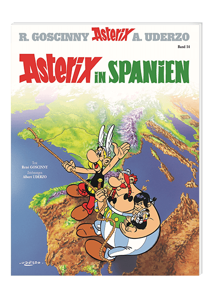 Asterix Nr. 14: Asterix in Spanien - Softcover