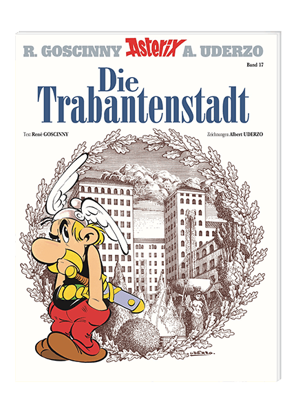 Asterix Nr. 17: Die Trabantenstadt - Softcover