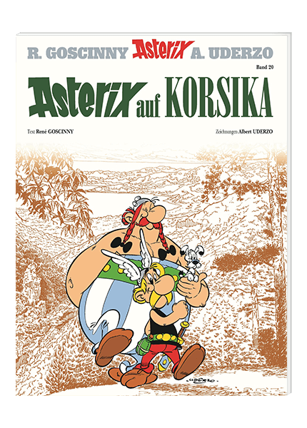 Asterix Nr. 20: Asterix auf Korsika - Softcover