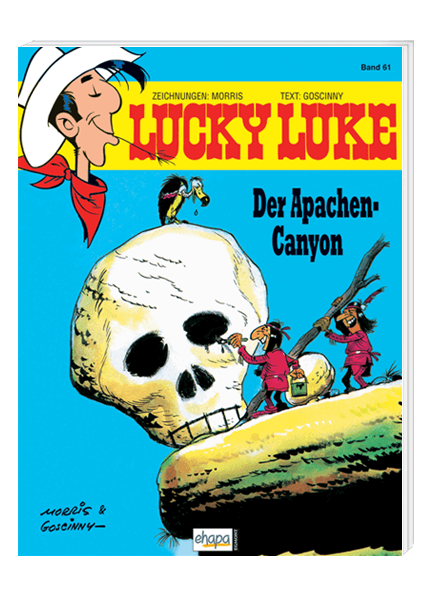 Lucky Luke Nr. 61: Der Apachen Canyon