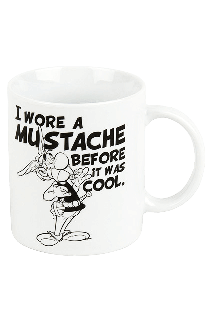 Asterix Tasse - I Wore a Mustache before it was cool