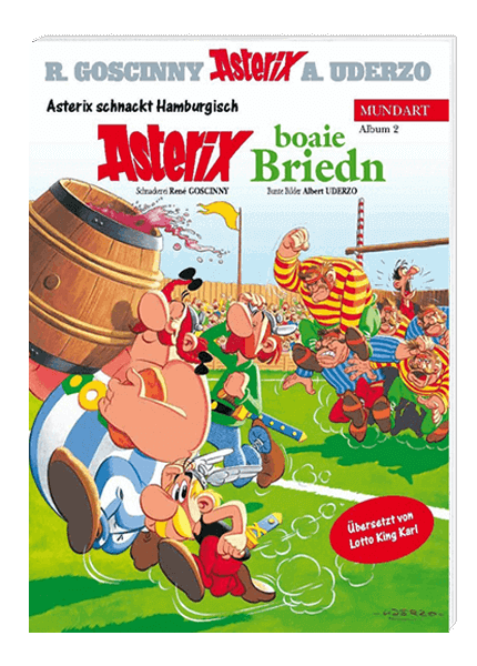 Asterix snackt Hamburgisch 2 - Asterix boaie Briedn - Softcover