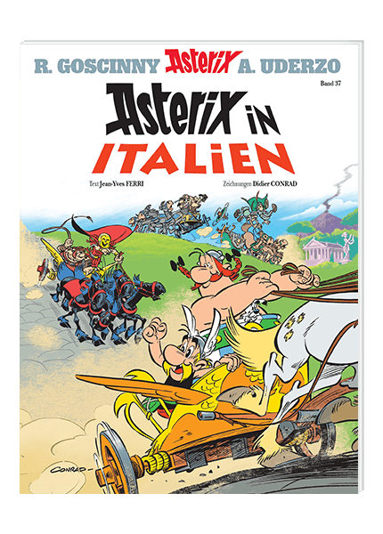 Asterix Nr. 37: Asterix in Italien - Softcover
