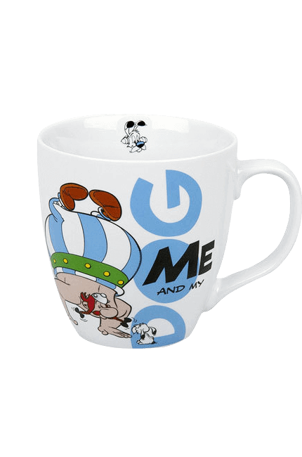 Asterix Tasse - Me and my Dog - Obelix