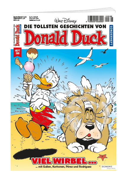 Donald Duck Sonderheft Nr. 398