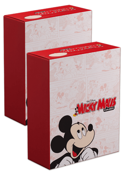 FAN-BOX Micky Maus 2er Set