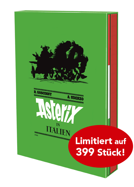 Asterix Nr. 37 Superluxusausgabe – Asterix in Italien