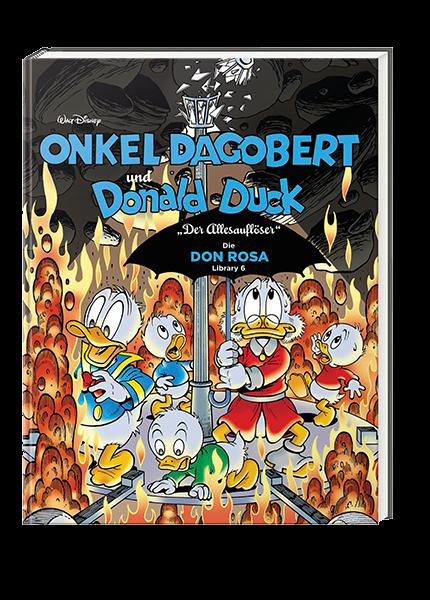 Onkel Dagobert und Donald Duck - Don Rosa Library Nr. 06 - Der Allesauflöser