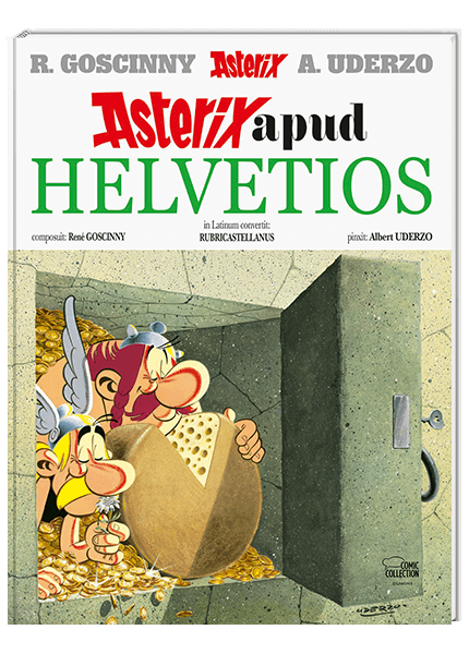 Asterix Latein 23 - Asterix apud Helvetios
