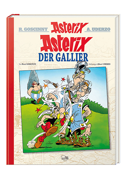 Asterix 01 Luxusedition - Asterix der Gallier