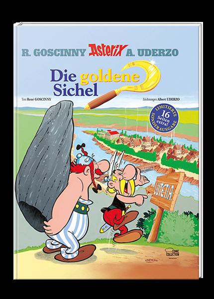 Asterix Nr. 5: Die goldene Sichel - Einmalige Sonderausgabe