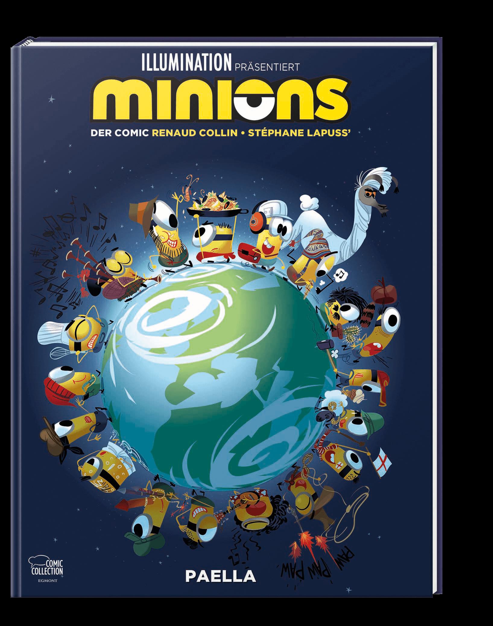 Minions - Paella - Der Comic