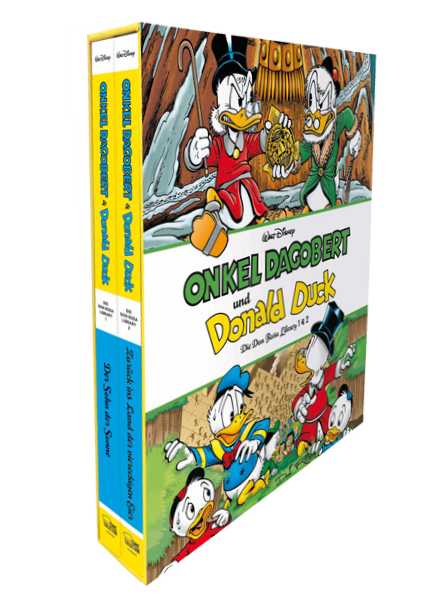 Onkel Dagobert & Donald Duck - Don Rosa Library Schuber 1 - Band 1+2