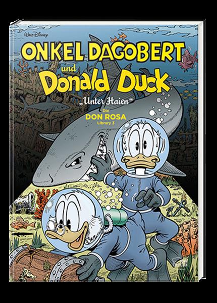 Onkel Dagobert und Donald Duck - Don Rosa Library Nr. 03 - Unter Haien