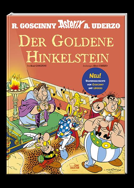Asterix - Der Goldene Hinkelstein - gebundene Ausgabe