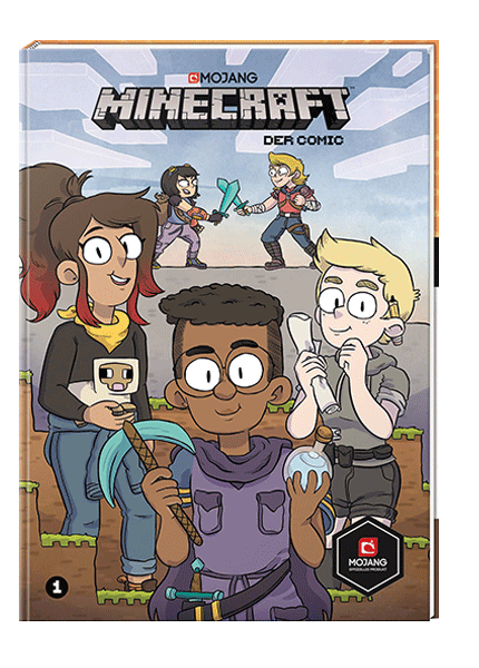 Minecraft, Der Comic
