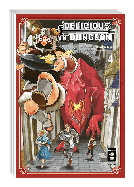 Delicious in Dungeon 04