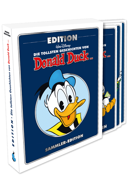 DDSH Donald Duck Edition Nr. 1-3 im Schuber